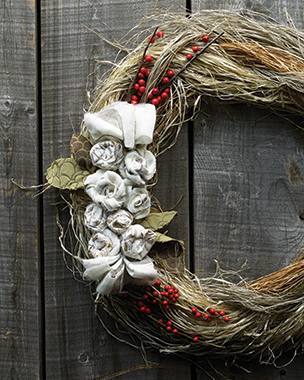 Hartmann and Forbes Christmas Wreath