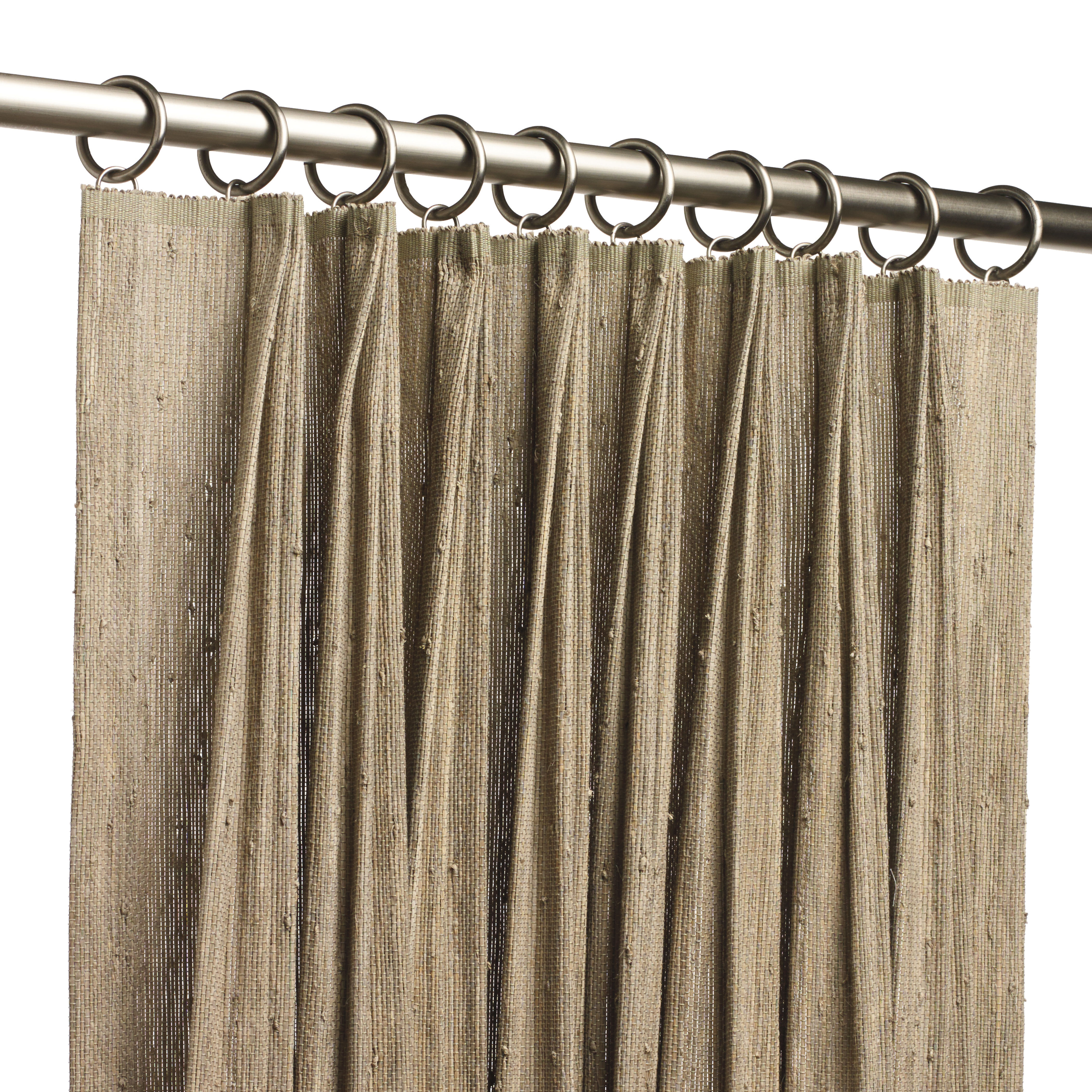 Natural Woven Drapery Hartmann Amp Forbes
