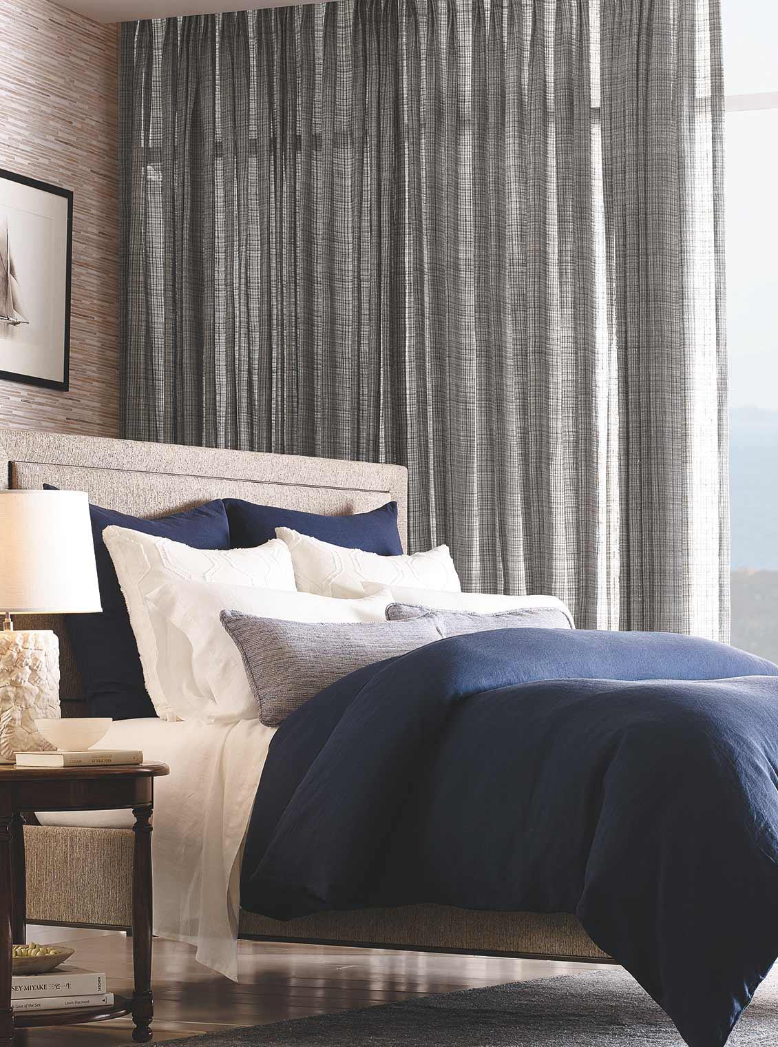 LE2260 Cobblestone   Bed - Thomas Lavin