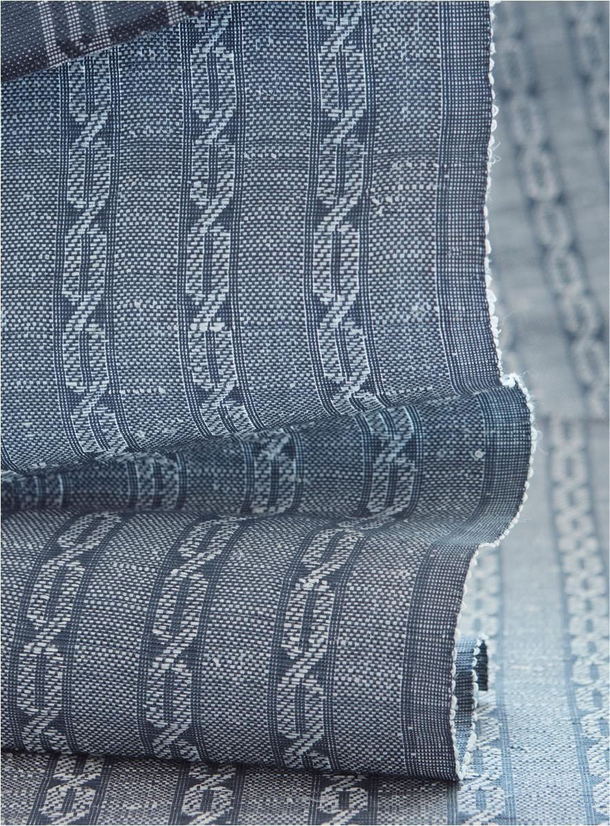 LEMH503-57 Cableknit - Heathered Blue