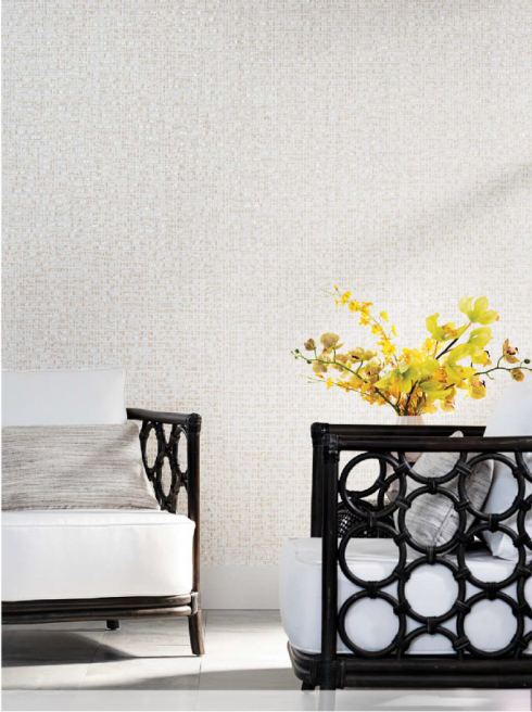 2020 Spring Press Install Shot Wallcoverings