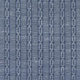 swatch LEMH503-57 cableknit heathered blue